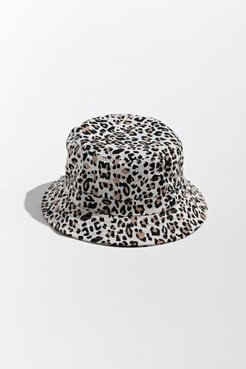 UO Patterned Bucket Hat - Animal at Urban Outfitters