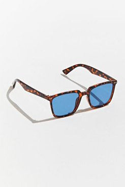 Herman Thin Square Sunglasses - Blue at Urban Outfitters