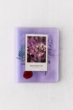 Floral Instax Mini Photo Album - Purple at Urban Outfitters