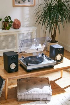 Crosley K100 Record Player With Speakers - Silver at Urban Outfitters