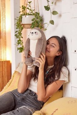 Toasty Heatable Plushie - Grey at Urban Outfitters