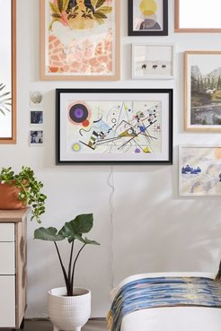 Leonora Canvas Smart Art Frame - Black at Urban Outfitters