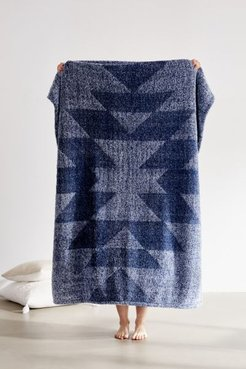Southwest Carved Amped Fleece Throw Blanket - Blue at Urban Outfitters