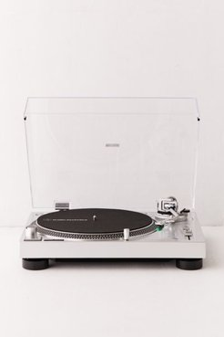 Audio-Technica AT-LP120X USB Record Player - Silver at Urban Outfitters