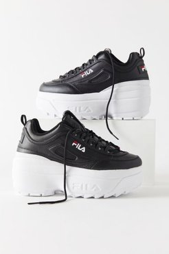 FILA Disruptor 2 Wedge Platform Women's Sneaker - Black 7 at Urban Outfitters