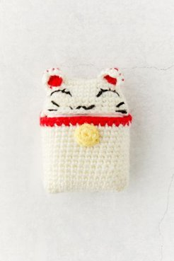 Crochet AirPods Case - White at Urban Outfitters