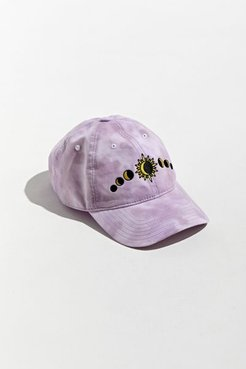 Moon Phase Baseball Hat - Purple at Urban Outfitters