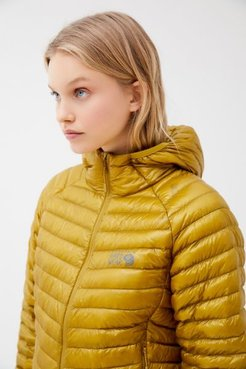 Ghost Whisperer 2 Puffer Jacket - Yellow Xl at Urban Outfitters