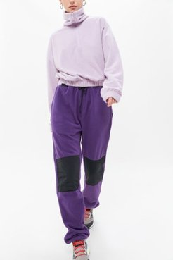 Elsa Sherpa Pant - Purple S at Urban Outfitters