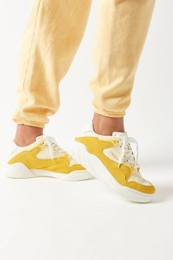 Lacoste Court Slam Women's Sneaker - Yellow 7 at Urban Outfitters