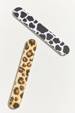 Animal Print Nail File Set - Assorted at Urban Outfitters