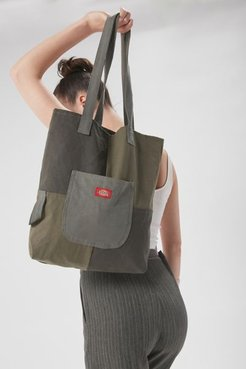 Reworked Workwear Tote Bag - Brown at Urban Outfitters