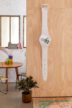 Maxi Exceptionnel Wall Clock - White at Urban Outfitters