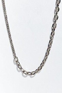 Ariel Neman UO Exclusive Doubleweight Necklace - Silver at Urban Outfitters