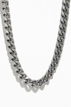 Ariel Neman UO Exclusive Thick Chain Necklace - Silver at Urban Outfitters