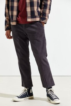 Relaxo Chop Corduroy Cropped Pant - Black 30 at Urban Outfitters
