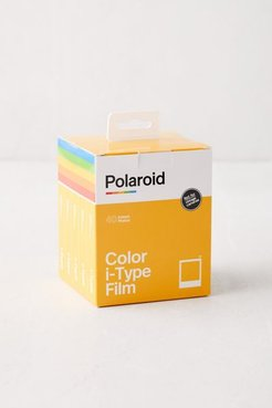 Polaroid Color i-Type Instant Film - 5-Pack - White at Urban Outfitters