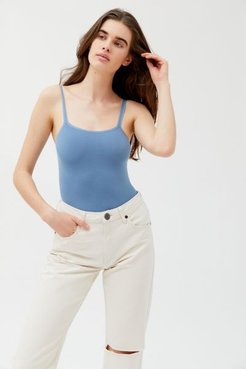 Carry On Seamless Bodysuit - Blue Xs/s at Urban Outfitters
