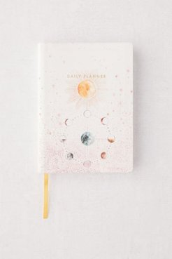 Starry Cosmos Daily Planner Journal - White at Urban Outfitters