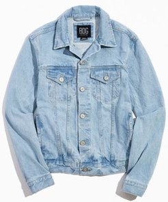 Denim Trucker Jacket - Blue Xs at Urban Outfitters