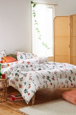 Georgina Floral Comforter Set - White King at Urban Outfitters