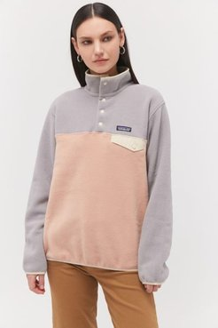 Patagonia Lighweight Synchilla Snap-T Fleece Jacket - Grey L at Urban Outfitters