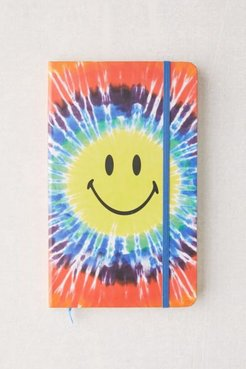 X Smiley UO Exclusive Tie-Dye Notebook - Assorted at Urban Outfitters