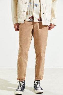 UO Exclusive Pleated Pant - White 34 at Urban Outfitters