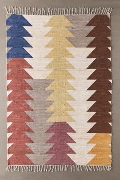 Lowell Geo Rag Rug - Assorted 2X3 at Urban Outfitters