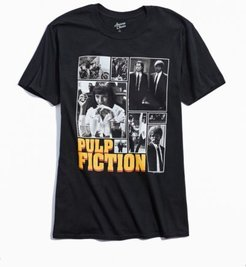 Pulp Fiction Multi Photo Tee - Black M at Urban Outfitters