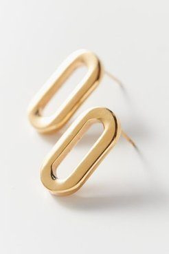 Gage Oversized Link Post Earring