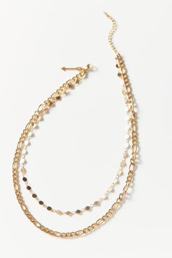 Jayce Double-Chain Layer Necklace