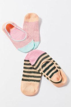 Hysteria By Happy Socks Claudia No-Show Sock 2-Pack