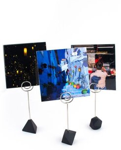 Polyhedra Photo Stand Set - Black at Urban Outfitters