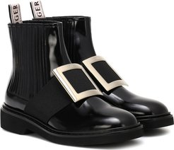 Chelsea Viv' leather ankle boots