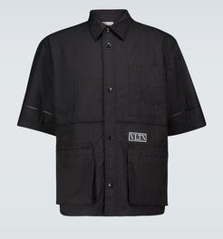 Technical short-sleeved shirt