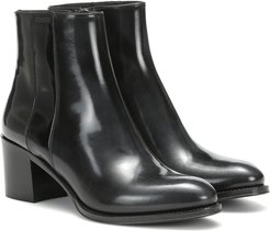 Carin patent leather ankle boots