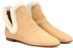 Eros suede ankle boots