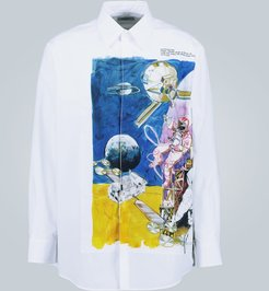 Spaceland long-sleeved shirt