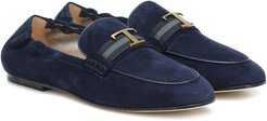 Timeless suede loafers