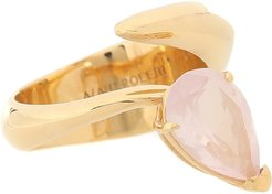 Exclusive to Mytheresa – Alien gold-vermeil ring