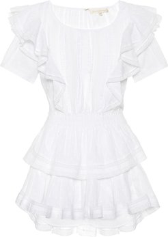 Natasha cotton minidress