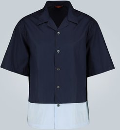 Cotton short-sleeve shirt