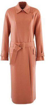Julyan Long Cashmere Coat