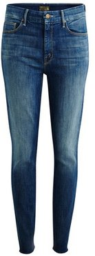 The High Waisted Looker Ankle Fray jeans
