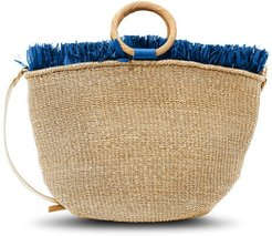 Carisse tote bag with fringes