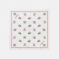 Cross Stitch Floral Hanky -