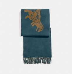 Rexy And Carriage Cashmere Scarf - Men's