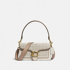 Tabby Shoulder Bag 26 With Pleating - Women's