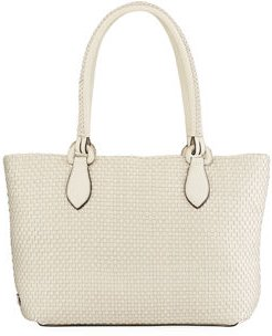 Bethany Large Woven Leather Tote Bag